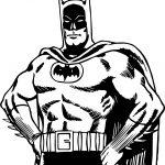 Batman Ok Coloring Page