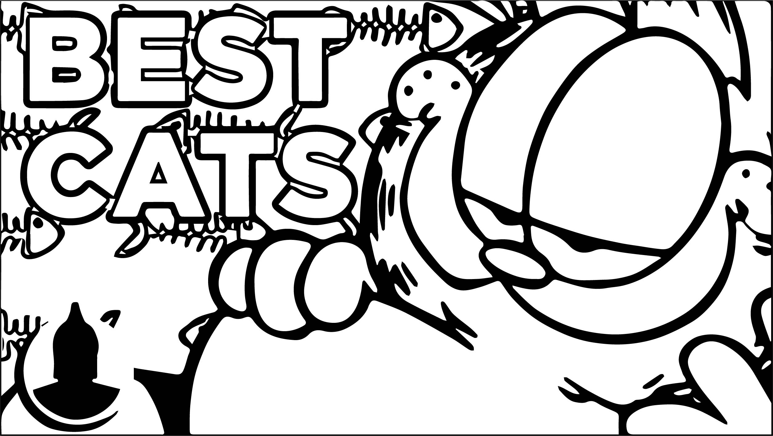 Top cat coloring pages printable ~ Best Cats Coloring Page | Wecoloringpage.com