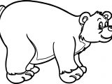 Big Bear Coloring Page