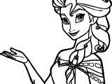 Big Elsa Coloring Page