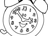 Blue's Clues Hour Coloring Page