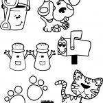 Blues Clues Periwinkle Coloring Pages