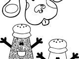 Blue's Clues Salt Coloring Page