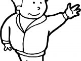 Boy Hi Coloring Pages