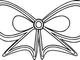 Butterfly Ribbon Coloring Page