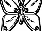 Butterfly Silver Coloring Page