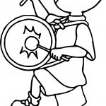 Caillou Band Coloring Page