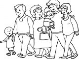 Caillou Together Parents Coloring Page