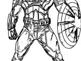 Captain Guard Coloring Pages