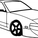Car Side Coloring Page