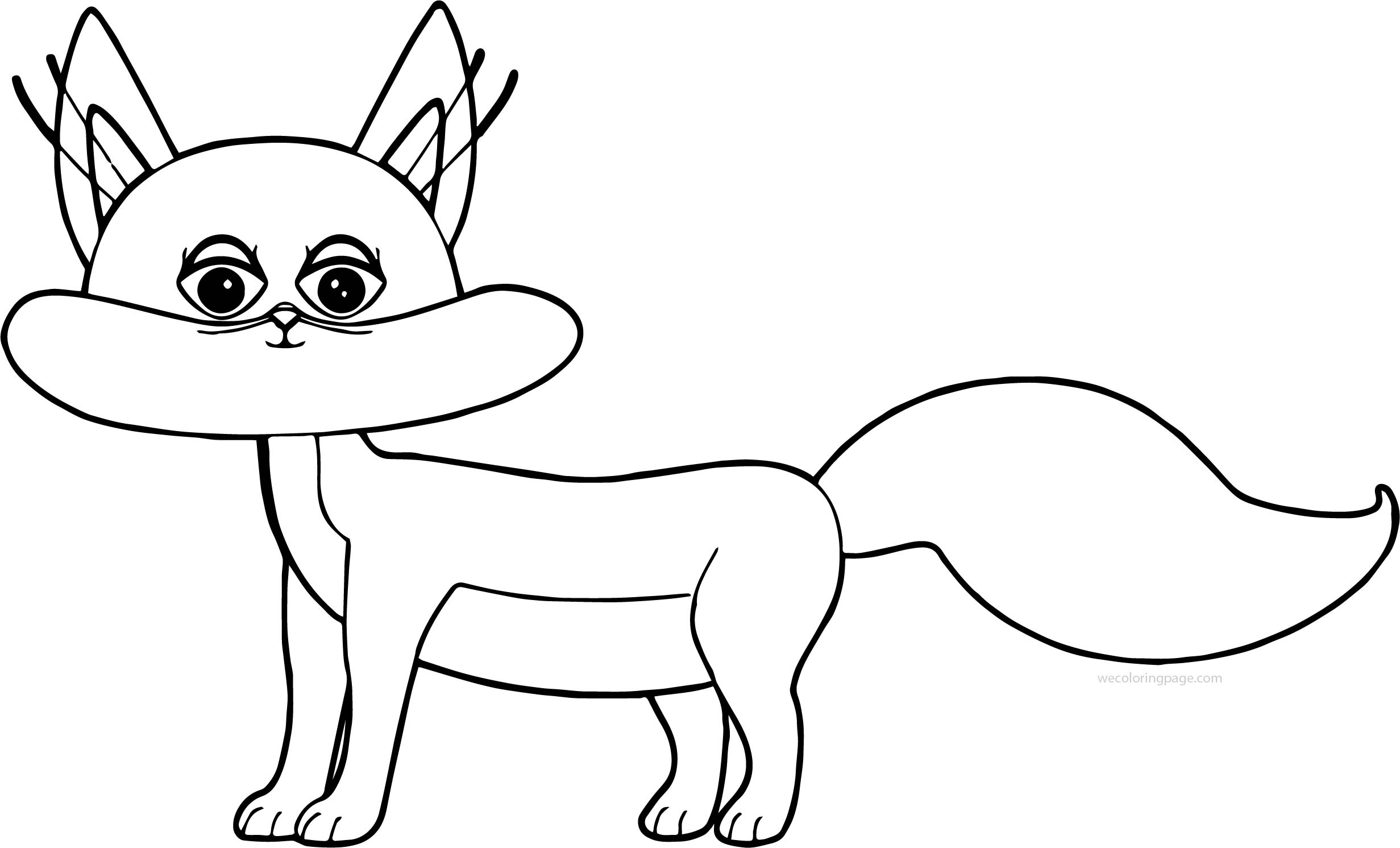 Cat Girl Coloring Pages