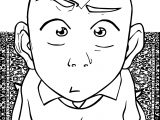 Chapter Aang Islandwriter Avatar Aang Coloring Page
