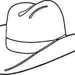 Cowboy Hat Coloring