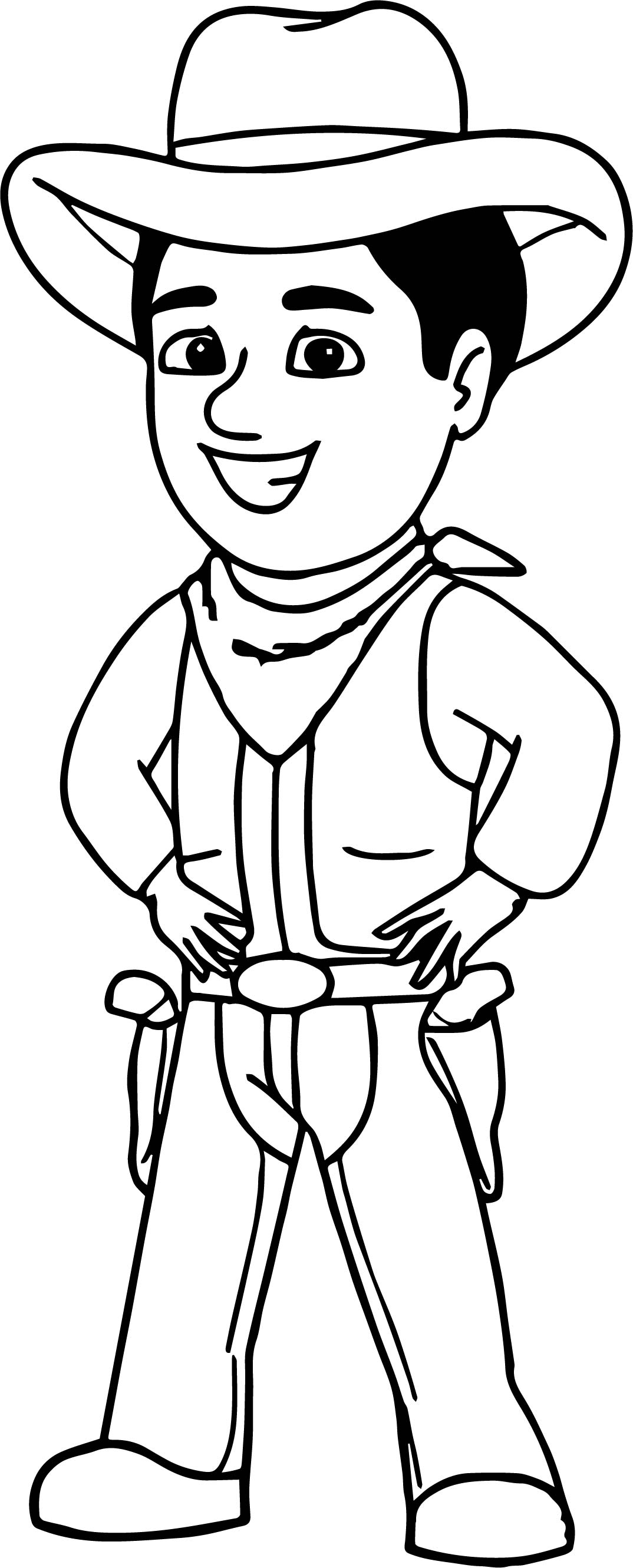 Funky Cowboys And Indians Coloring Pages Composition - Framing ...