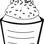 Cup Cake Coloring