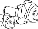 Disney Finding Nemo Marlin Nemo Coloring Pages