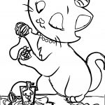 Disney The Aristocats Parfume Coloring Page