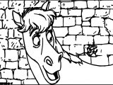 Disney The Aristocats Talking Horse Coloring Page