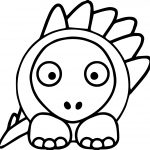 Dragon Easy Coloring Page
