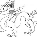 Dragon Realistic Other Coloring Page