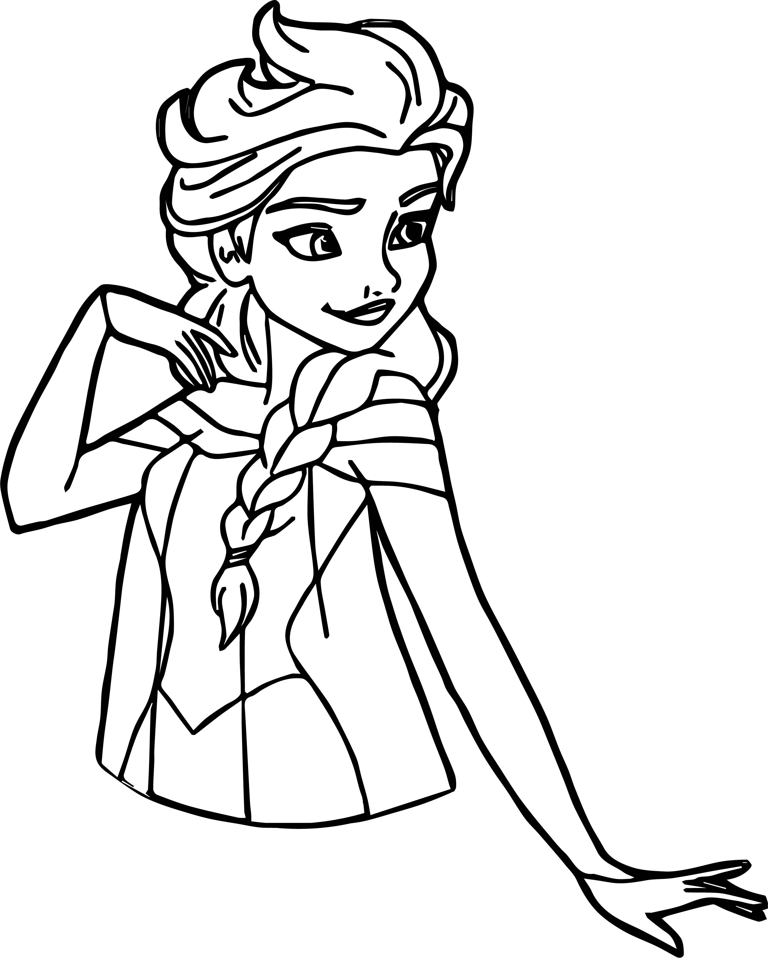 free coloring pages for girls frozen dresses | Elsa Pose Coloring Page | Wecoloringpage.com