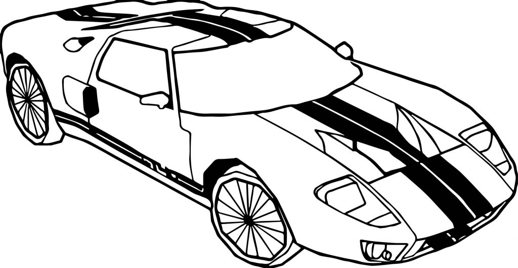 fast car coloring pages to print | Fast Car Viper Coloring Page | Wecoloringpage