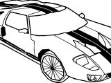Fast Car Viper Coloring Page
