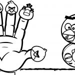 Finger Family Angry Birds Coloring Page