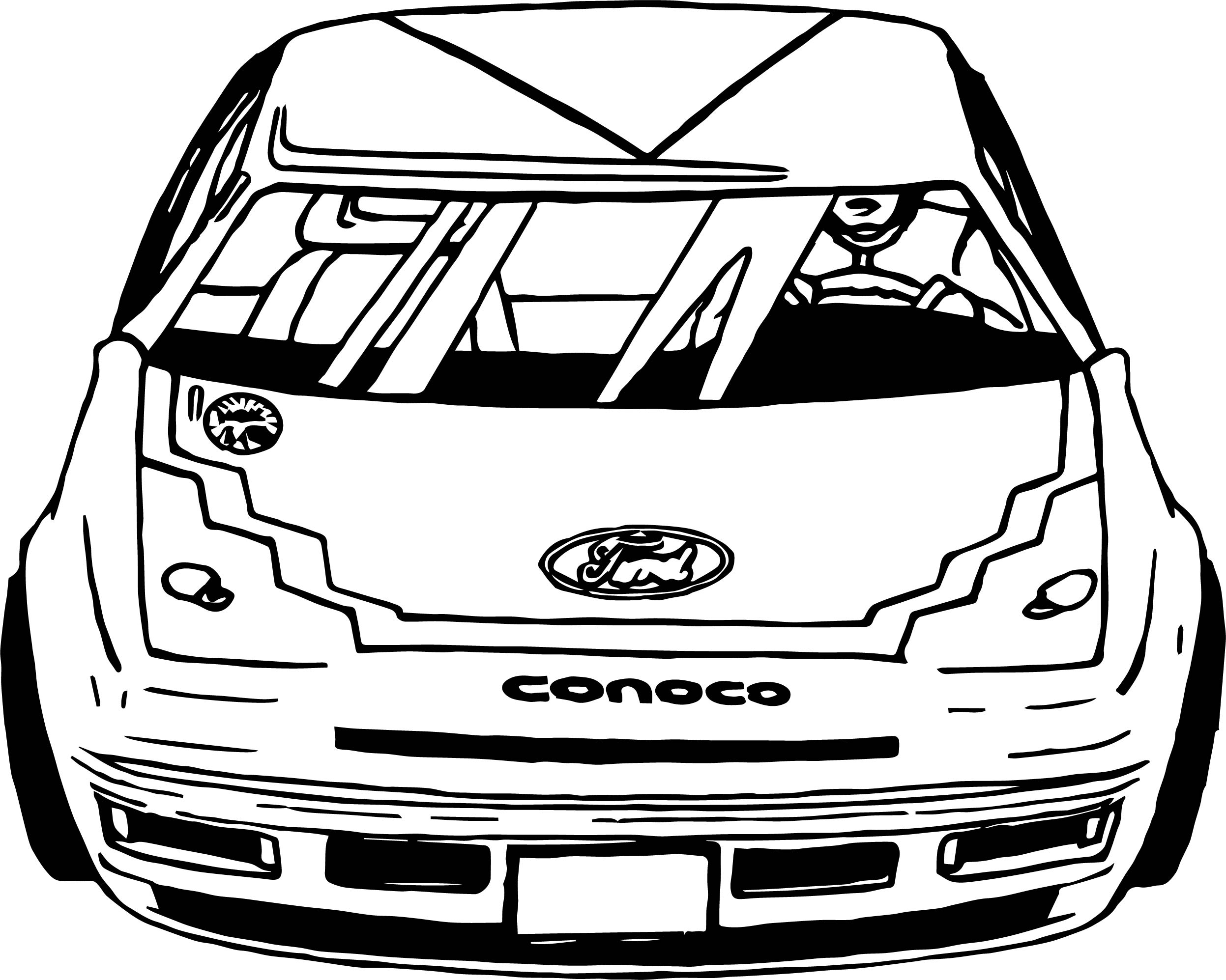 Ford Rally Race Car Coloring Page | Wecoloringpage.com