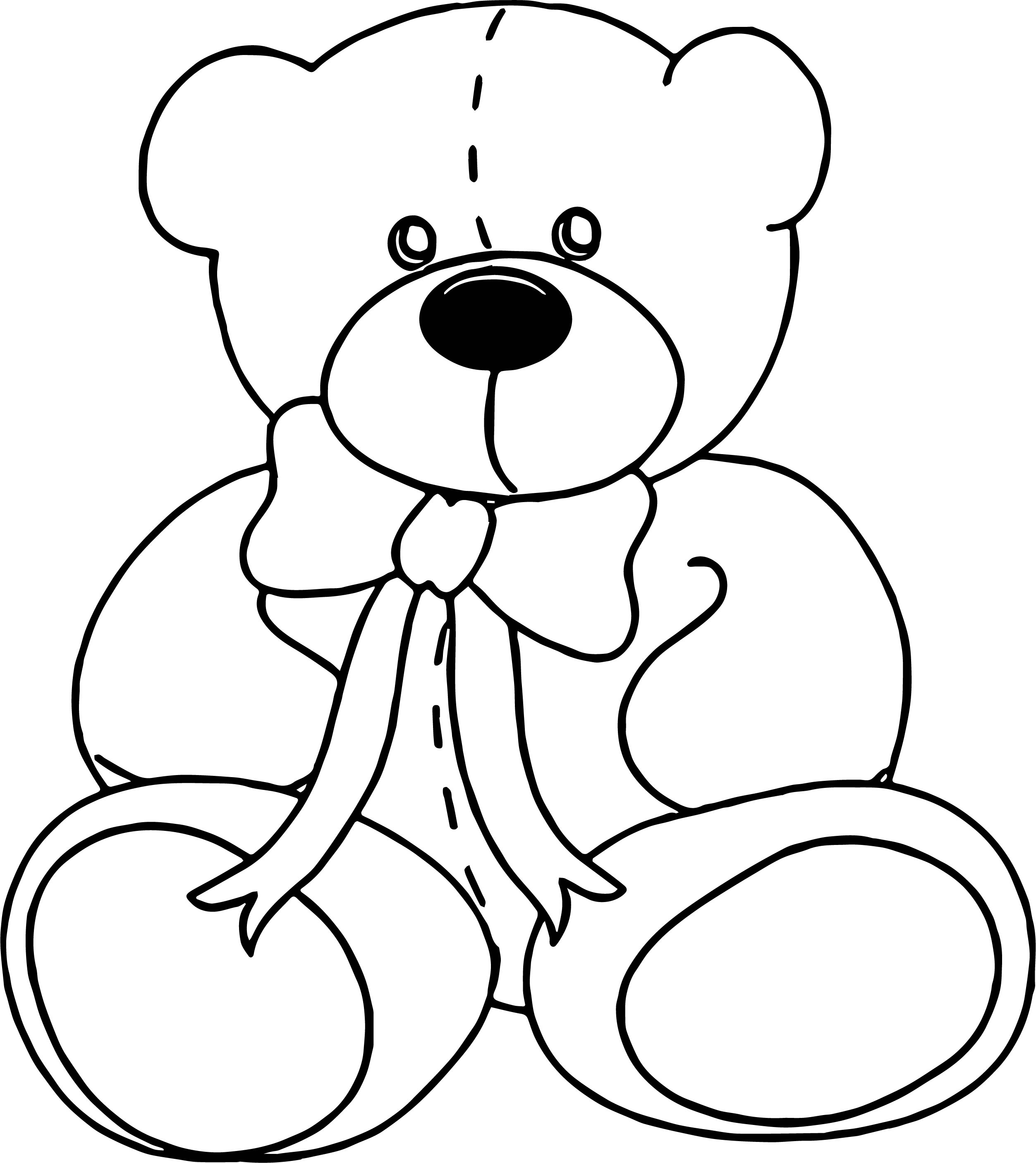 From Bear Coloring Page