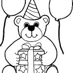 Go Bear Coloring Page