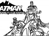 Gotham Crusaders Cover Batman Coloring Page