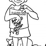 Greece Aesops Coloring Page