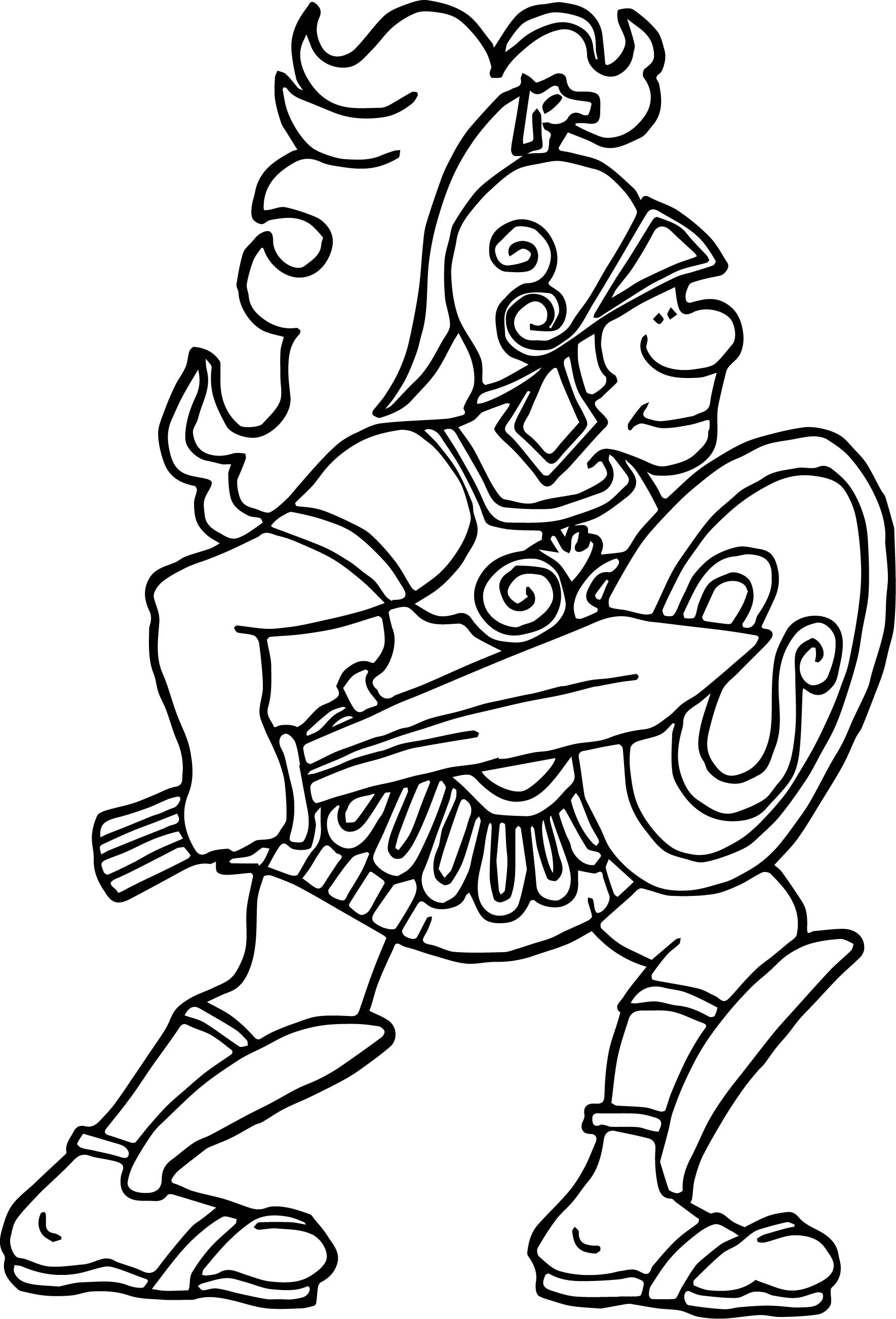 Greece Alexander Great Coloring Page