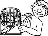 Greek Bingo Coloring Page
