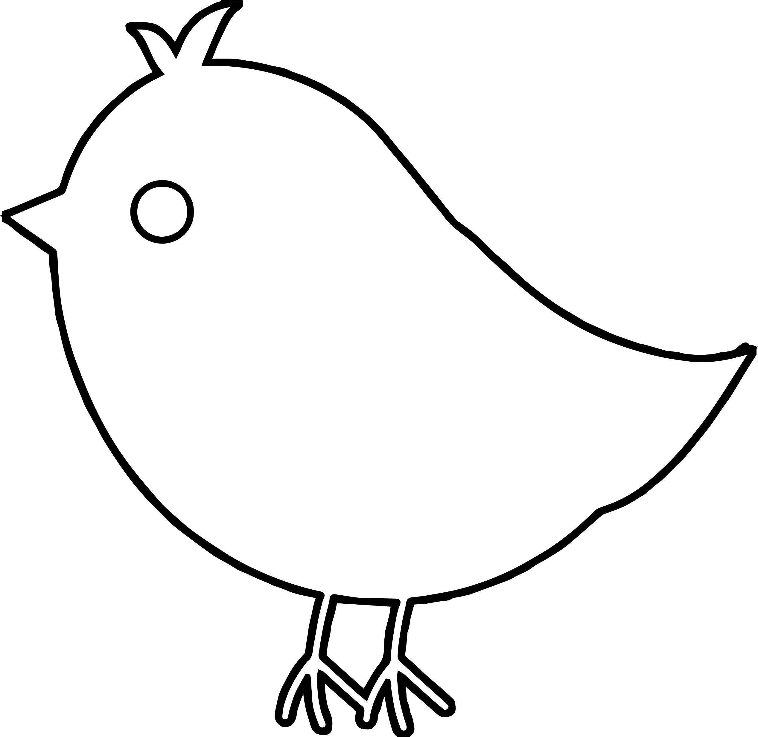 Had Bird Coloring Page