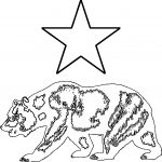 He Star Bear Coloring Page