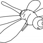 Helicopter Housefly Coloring Page