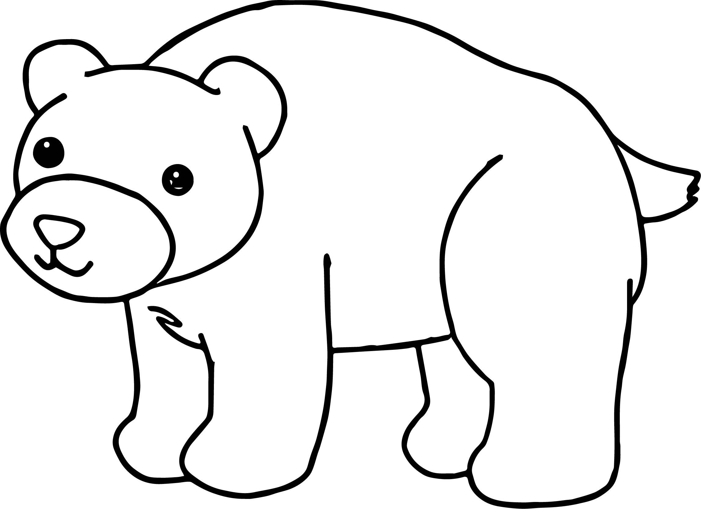 Him Bear Coloring Page