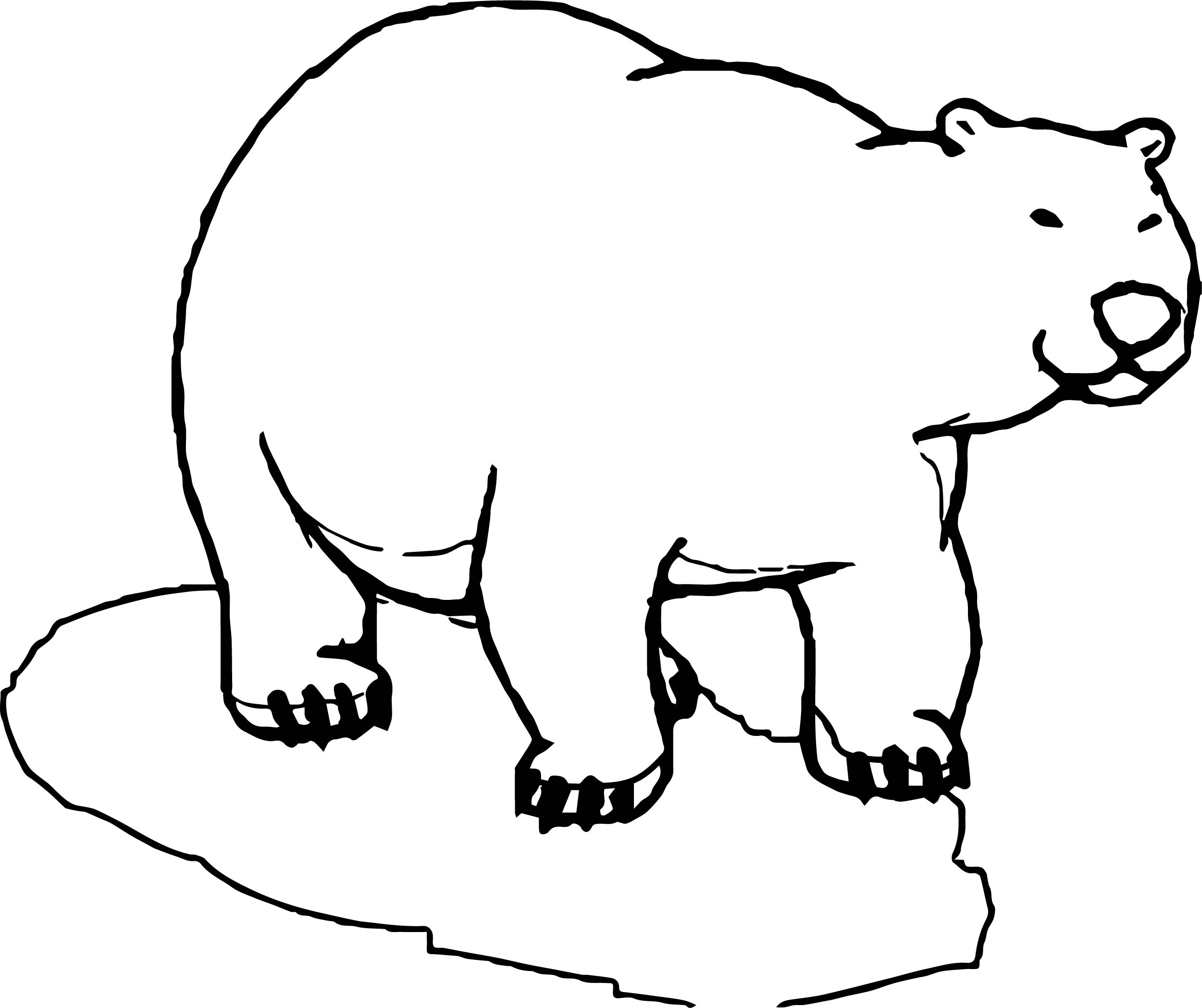 His Bear Coloring Page