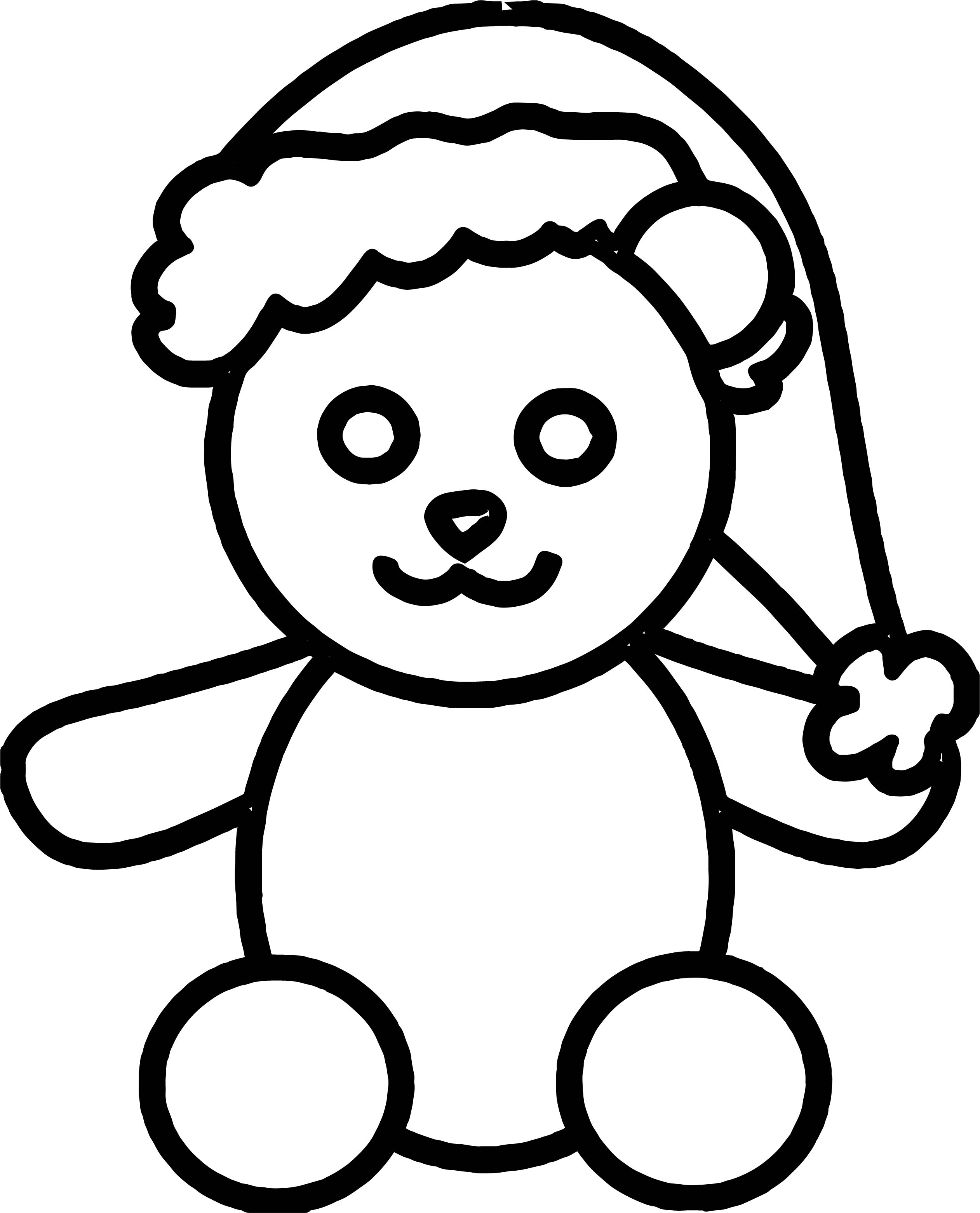 Is Bear Coloring Page