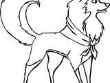 Koira Wolf Coloring Page