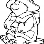 Large Bear Coloring Page