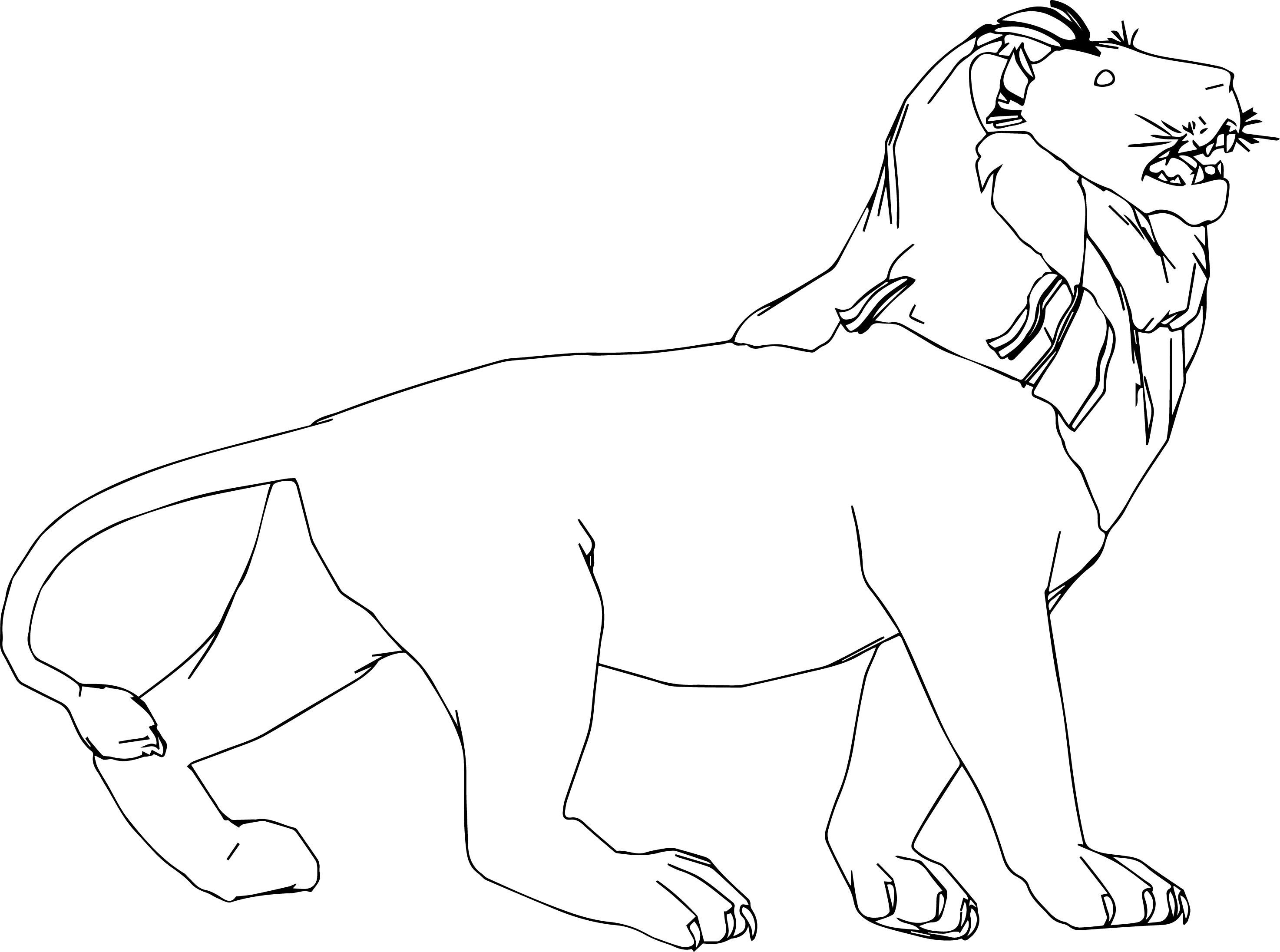 Leon Coloring Page