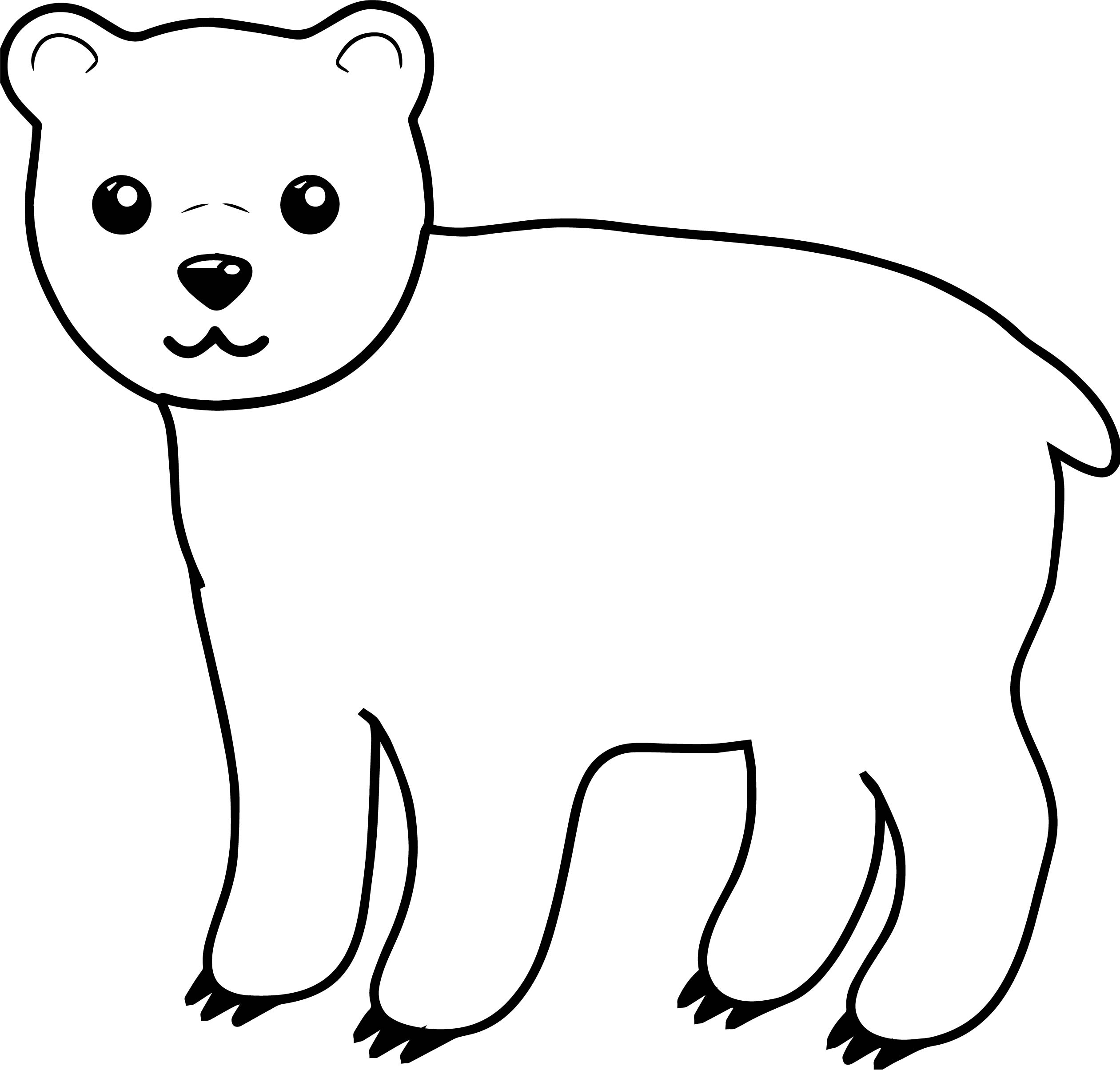 Like Bear Coloring Page