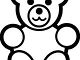 Look Bear Coloring Page