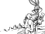 Looney Tunes Bugs Bunny Post Box Coloring Page