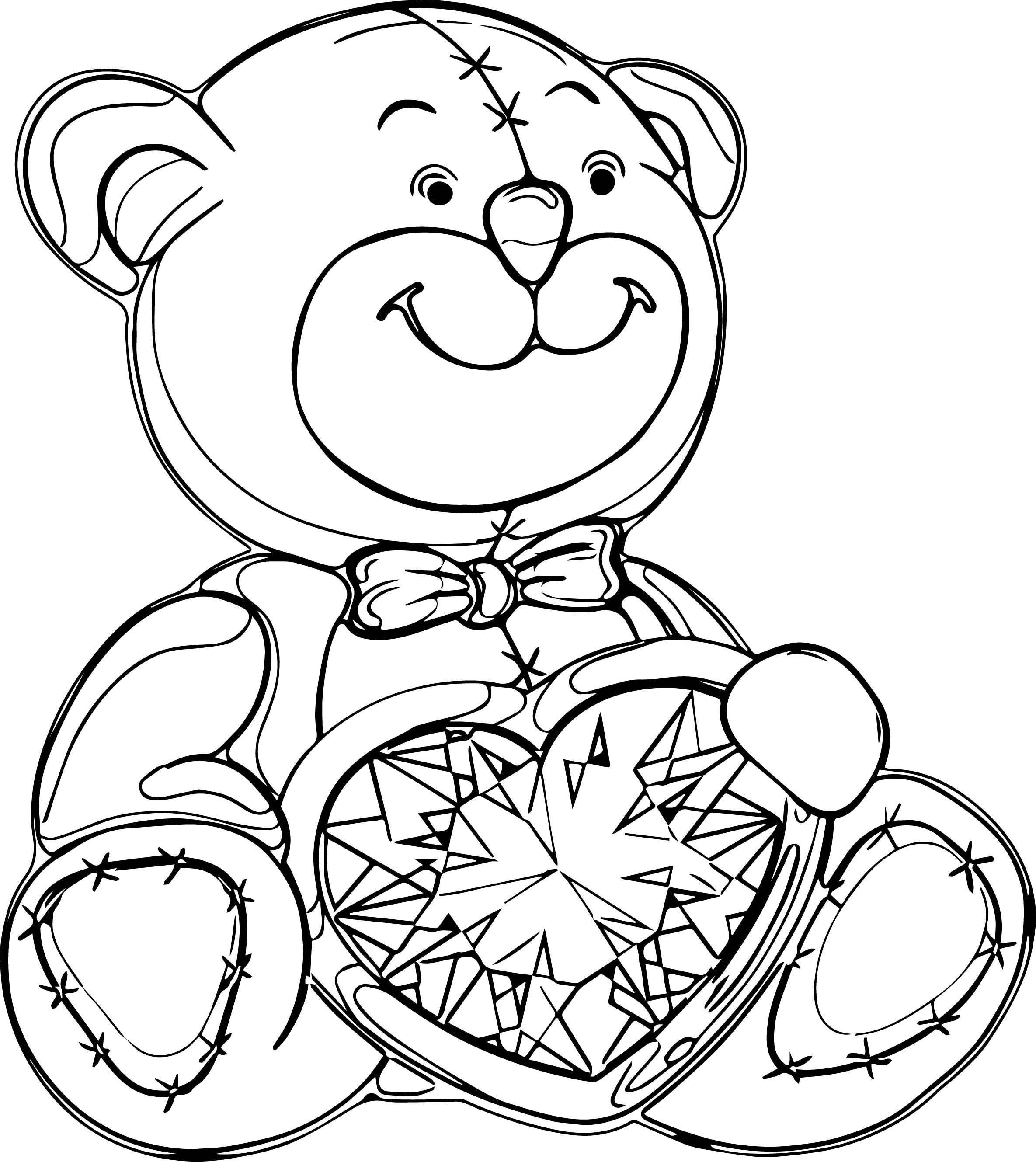 Many Bear Coloring Page