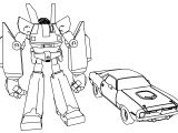 Mega Robots Megas Xlr Coloring Page
