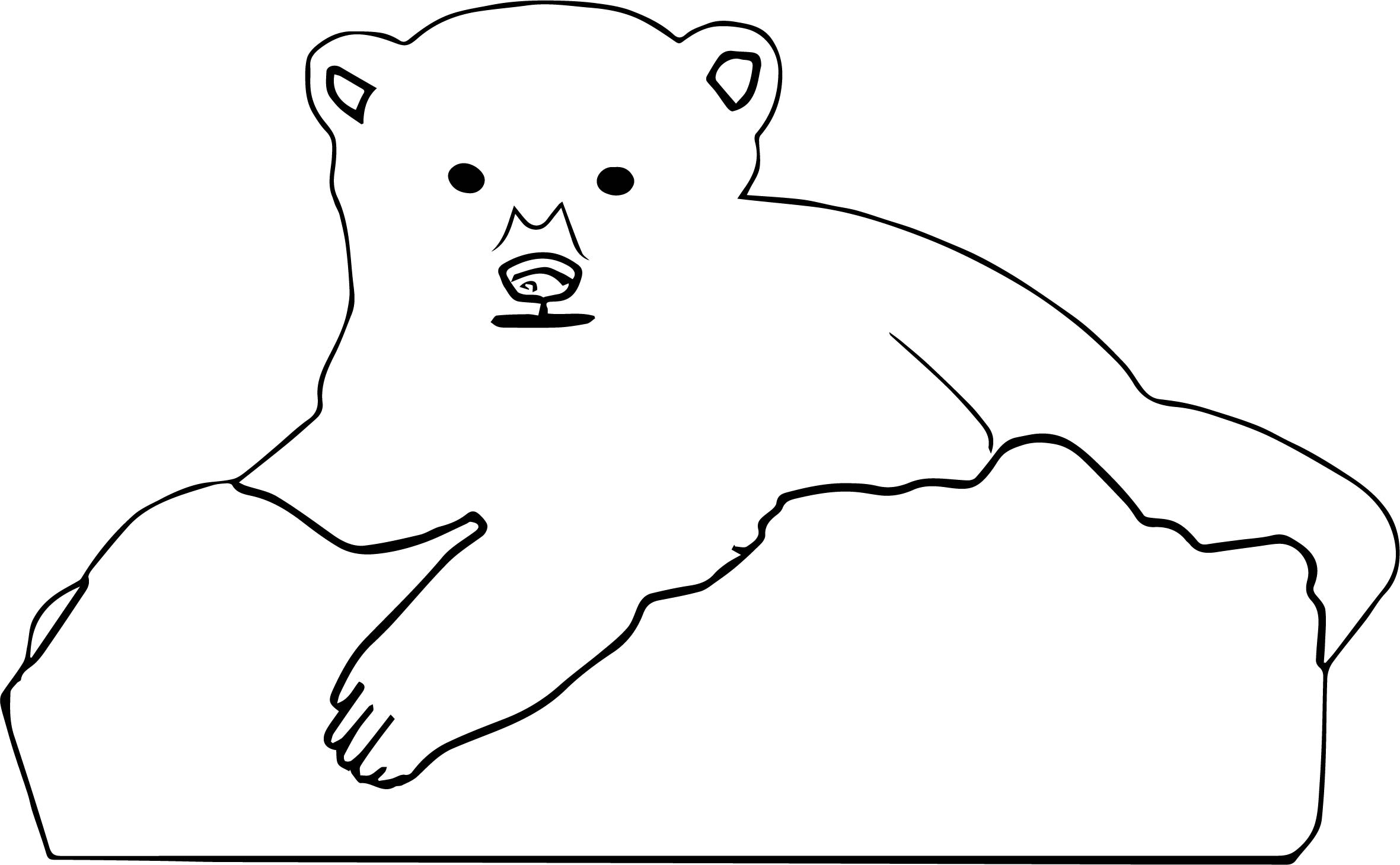 Men Bear Coloring Page